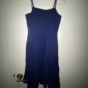 NWOT Club Monaco Blue Fit and Flare Summer Dress